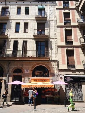 Cafe in Gràcia